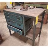 Lot, Shop Tables and Work Stands