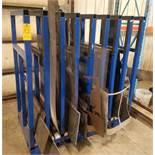 Steel Sheet Metal Storage Rack and Contents
