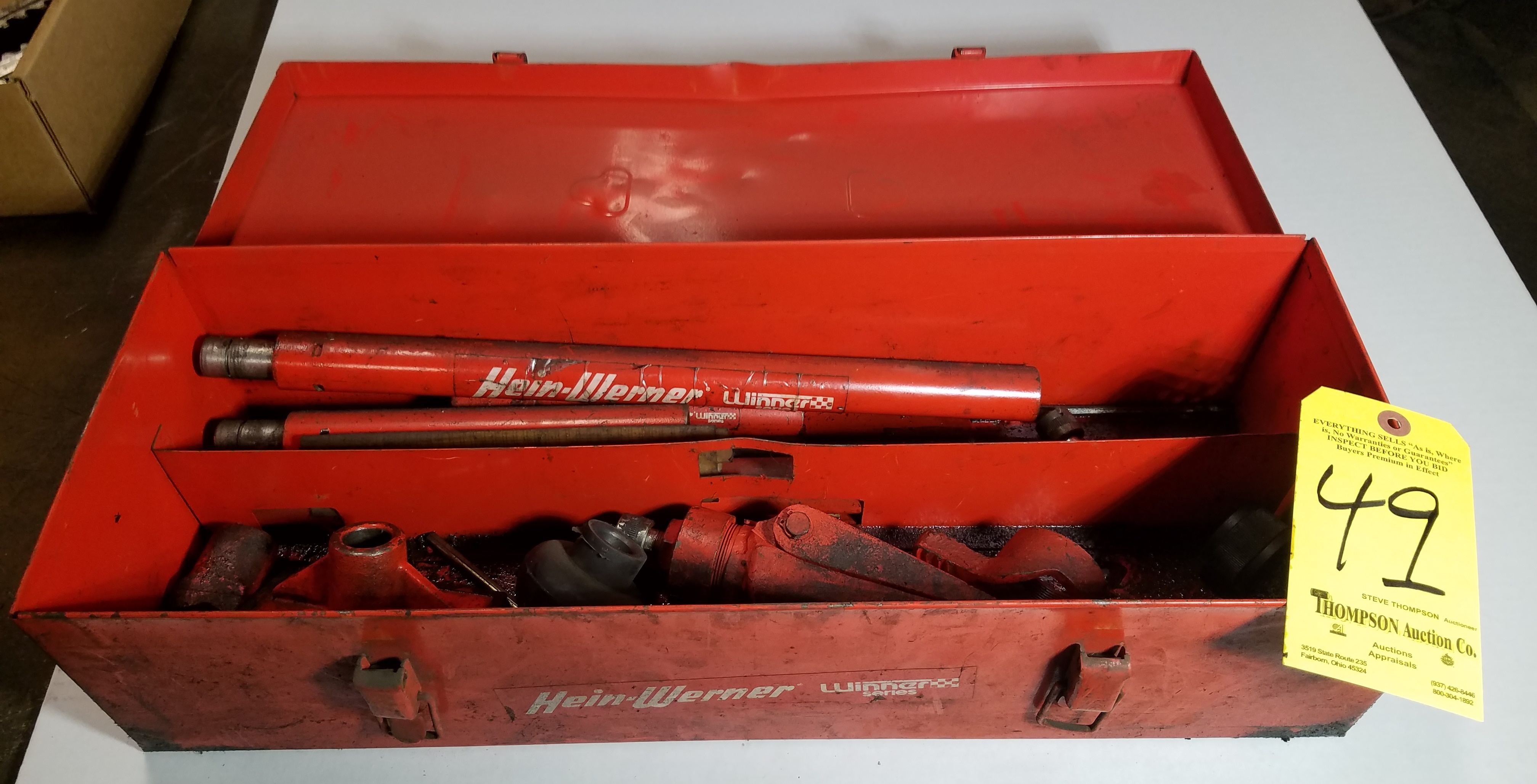Hein Werner Porta A Power Set, No Hyd. Power Supply
