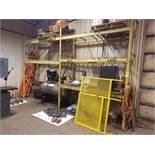 Pallet Racking, (2) Sections, (3) Uprights 11 Ft. Height, 8 Ft. 6 In. Wide, 36 In. Deep, Total of (