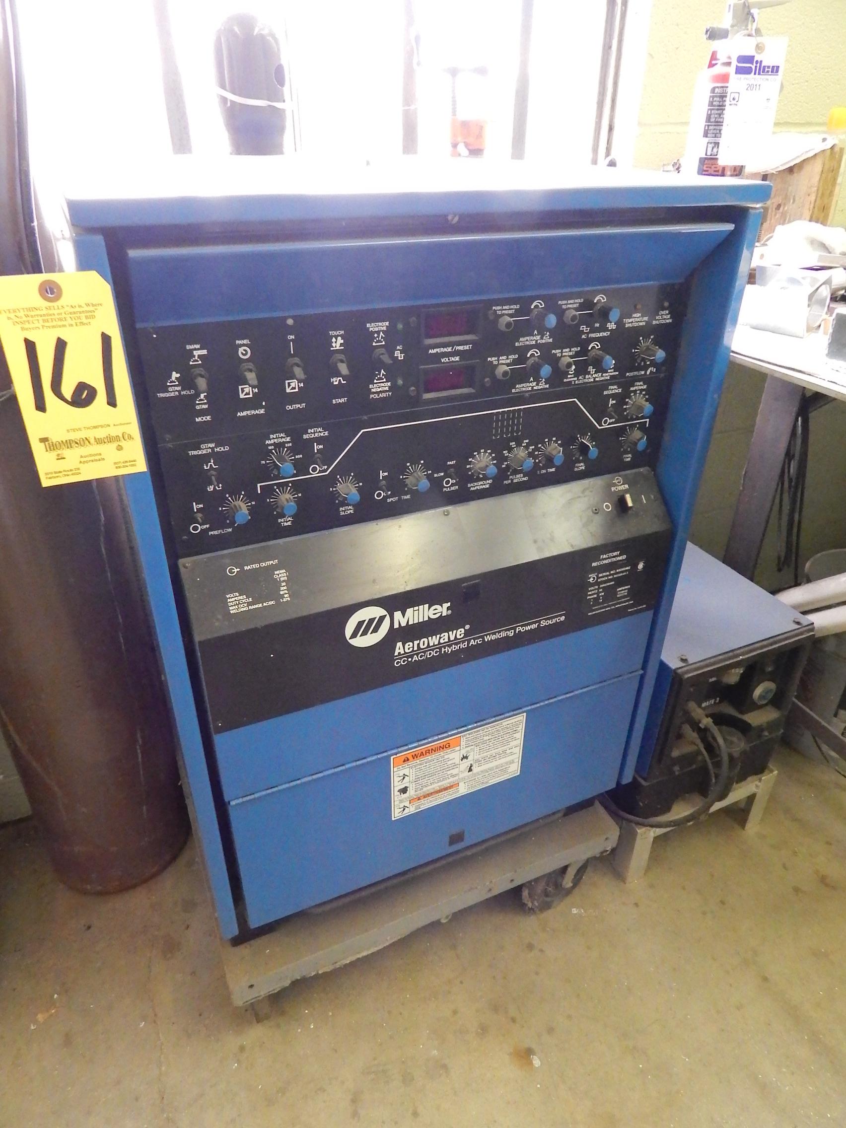 Miller Aerowave CC-AC/DC Hybrid Arc Welder, S/N KH303462