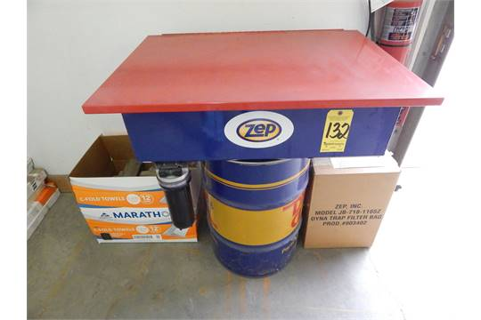 Zep Parts Washer with Dyna Trap Filter Bag