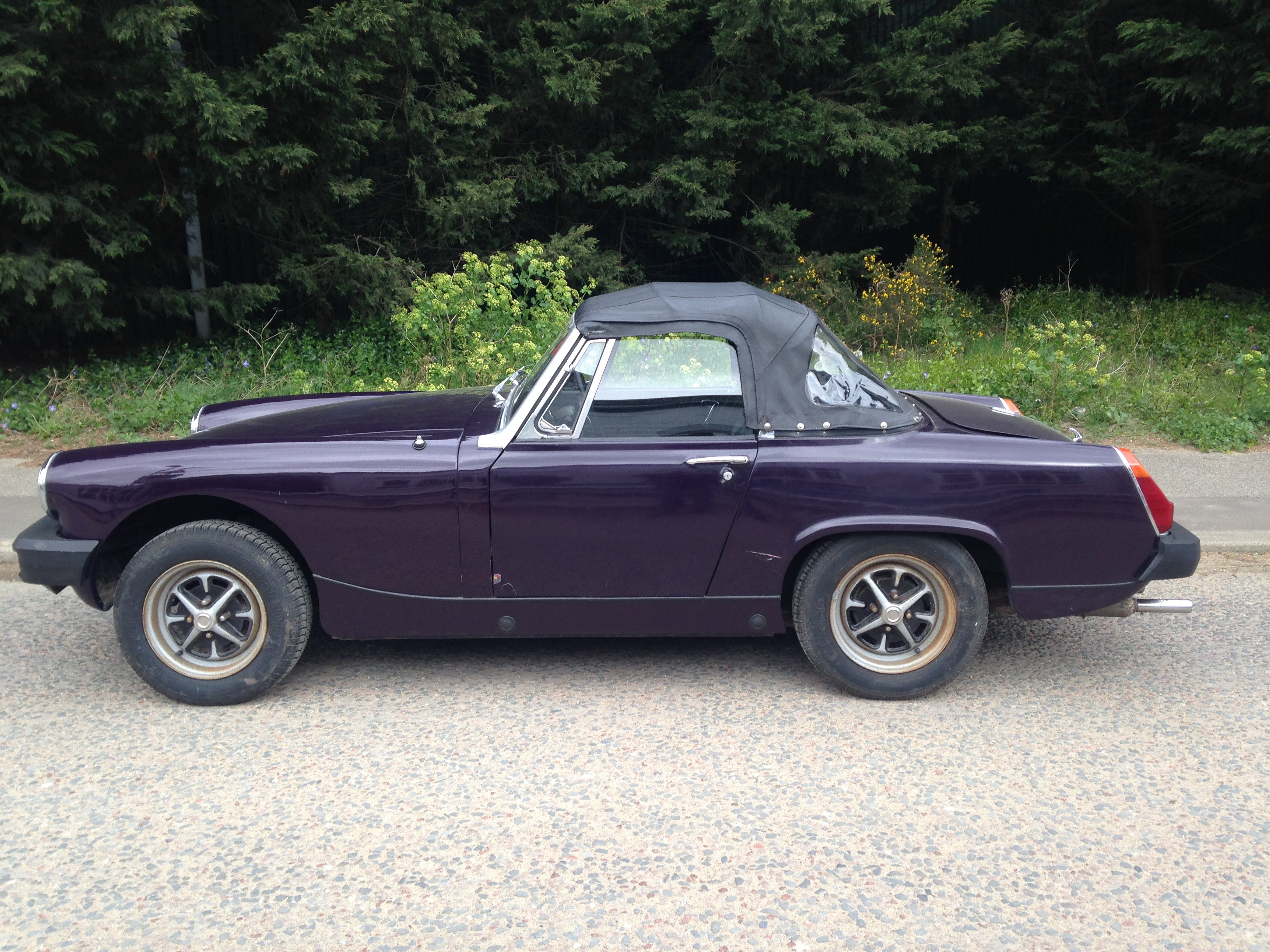 1980 Mg Midget 1500 Here We Have A Car That Has Been