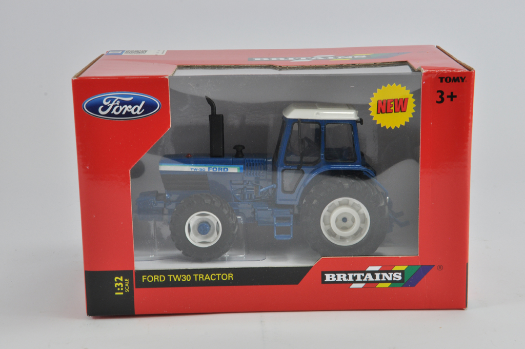 Lot 12 - Britains 1/32 Ford TW30 Tractor. M in E Box.