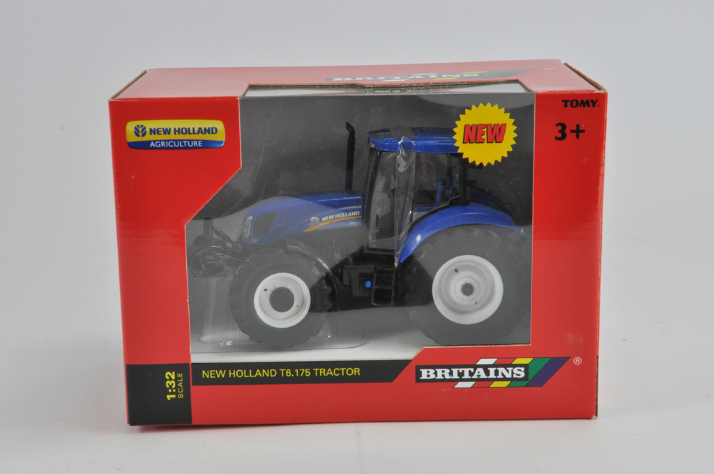 Lot 14 - Britains 1/32 New Holland T6.175 Tractor. M in E Box.