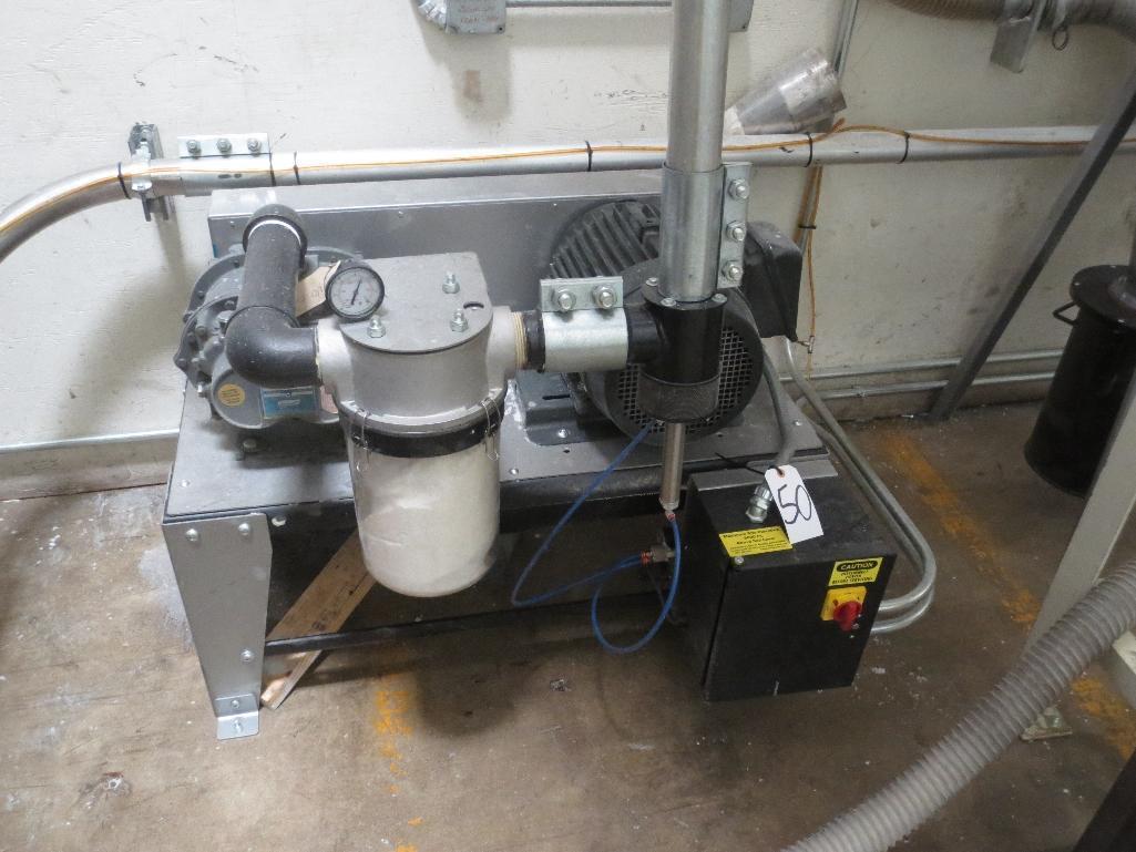 Novatec Vacuum Pump M/N VPDB-7.5 S/N 55203-3912 Mfg. Date 12-14