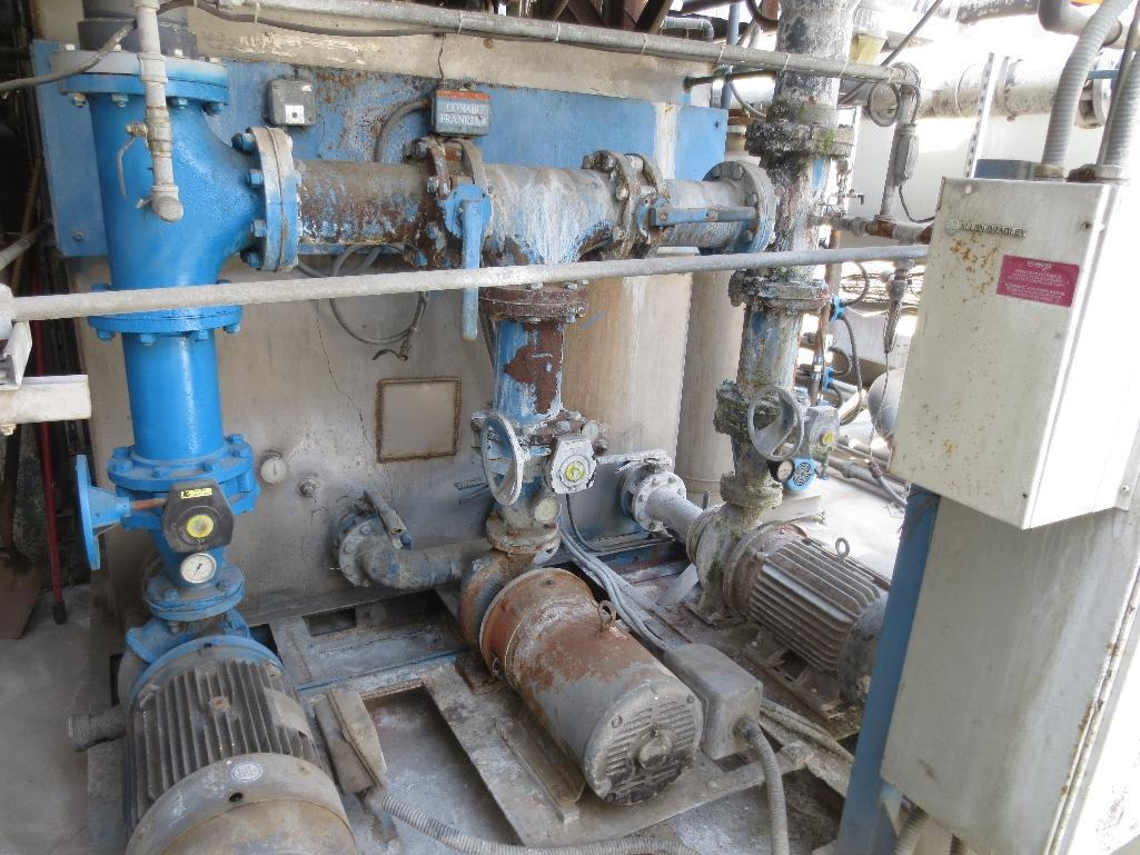 Large Conair/Franklin Cooling Tower & Holding Tank With Three Pump Motors - Image 6 of 9