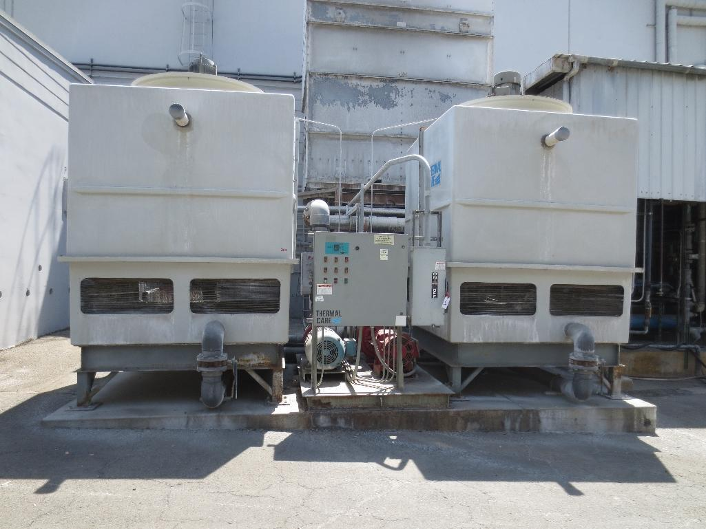 Thermal Care Cooling Towers, M/N FC840, S/N 06738020603 & 06738010603