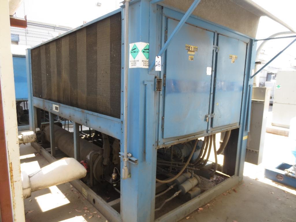 Carrier Liquid Chiller Unit, S/N 0995F36298