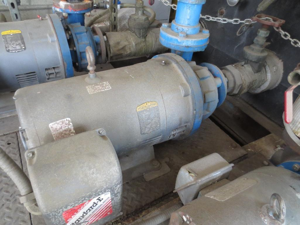 Pumping Station & Storage Tank With Four Motors, 75hp, Two 30hp, 10hp, Chemical Additive System Not - Image 8 of 9
