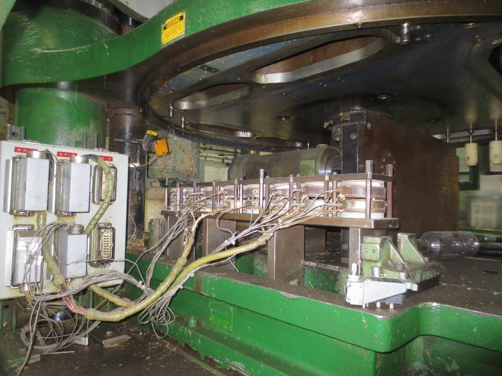 Nissei Stretch Blow Molding Machine, M/N ASB650EX II (Needs Gear Box) S/N 8665348, Mfg. Date 2/87 - Image 13 of 15