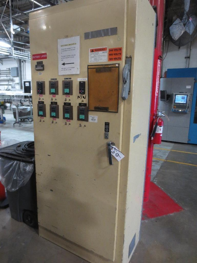 Lufkin Extruder With Baldor 60hp Motor & Control Cabinet, M/N DH150D-411, S/N 6707 - Image 11 of 11