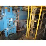 Lufkin Extruder With Electrostat 200hp Motor & Control Cabinet, M/N D165-611C, S/N 6646
