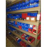 Shelf Plus Contents Of Various Size Pneumatic Cylinders & Valves