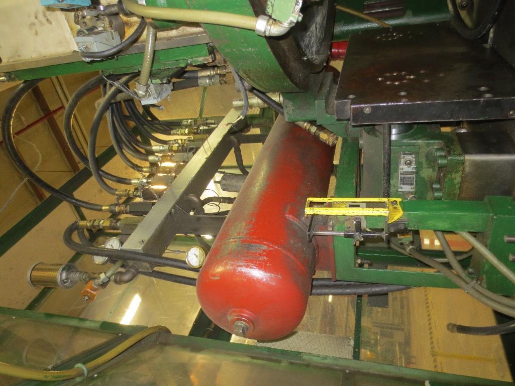 Nissei Stretch Blow Molding Machine, M/N ASB650EX II (Needs Gear Box) S/N 8665348, Mfg. Date 2/87 - Image 8 of 15