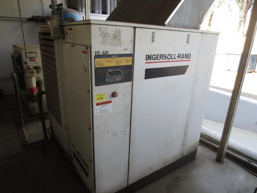 Ingersoll Rand Compressor, 237 CFM Capacity, 60hp, 3ph, 60hz, M/N SSR-EP60, S/N CA0194U98020 - Image 2 of 4