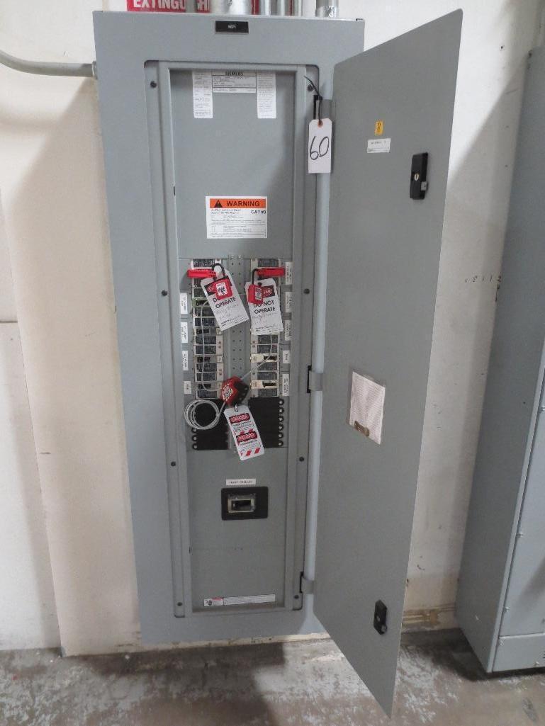 Siemens Breaker Panel, 480v 400amp Cat No. P3F68MC400FTS