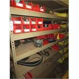 Shelf Plus Contents Of Belts, Seals, Gears
