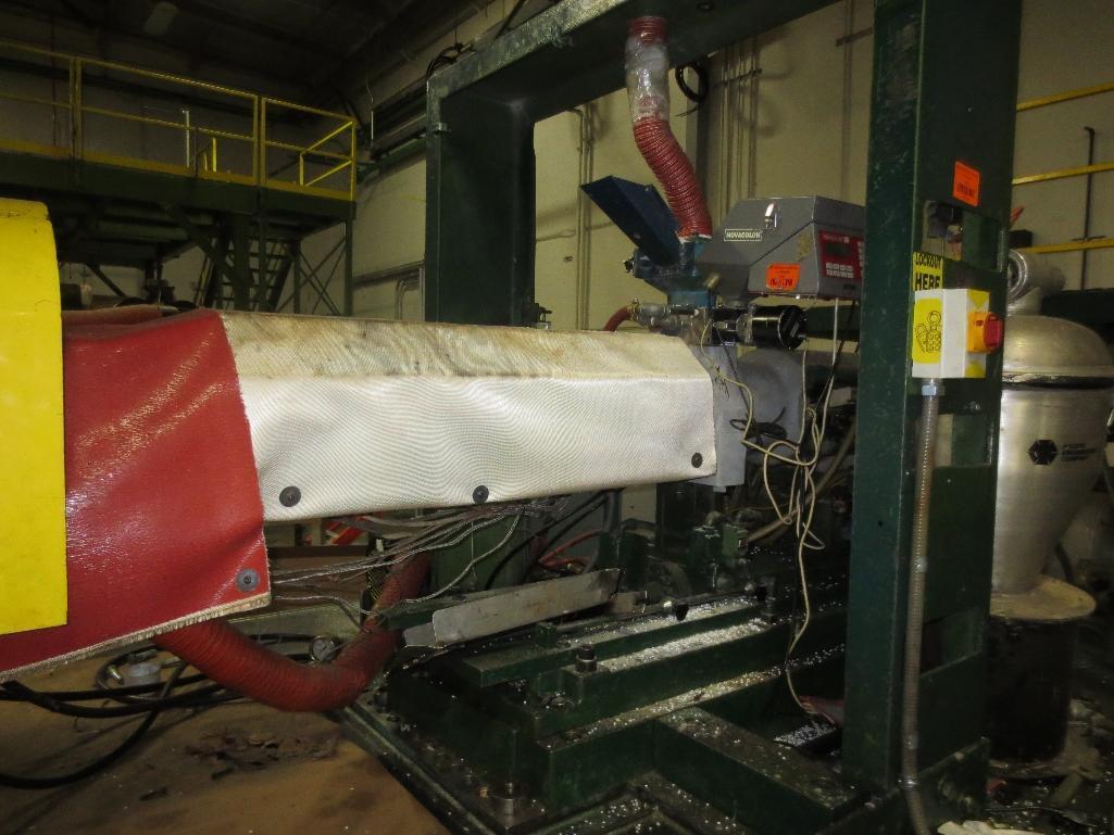 Nissei Stretch Blow Molding Machine, M/N ASB850EX II, S/N 109A4402, Mfg. Date 12/88 - Image 7 of 14