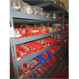 Shelf Plus Contents Of Heater Bands & Thermal Couplings
