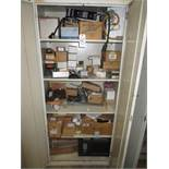 Cabinet Plus Contents Of Electrical Components