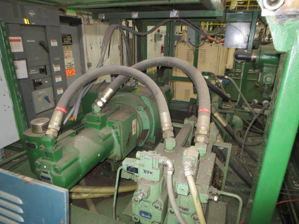 Nissei Stretch Blow Molding Machine, M/N ASB650EX II (Needs Gear Box) S/N 8665348, Mfg. Date 2/87 - Image 11 of 15