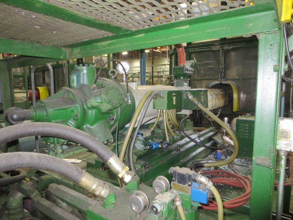 Nissei Stretch Blow Molding Machine, M/N ASB650EX II, S/N 8465319, Mfg. Date 2/85 - Image 9 of 17