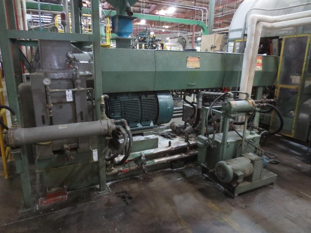 Lufkin Extruder M/N D200-611-CG S/N 118360