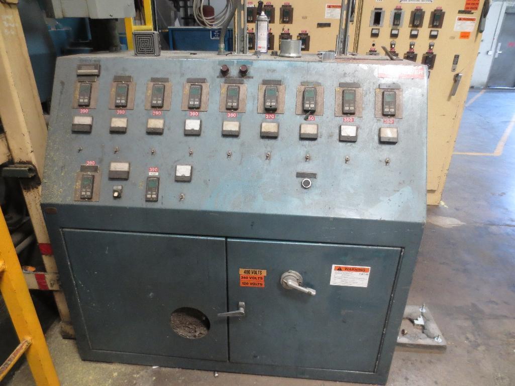 Lufkin Extruder With Electrostat 200hp Motor & Control Cabinet, M/N D165-611C, S/N 6646 - Image 7 of 8
