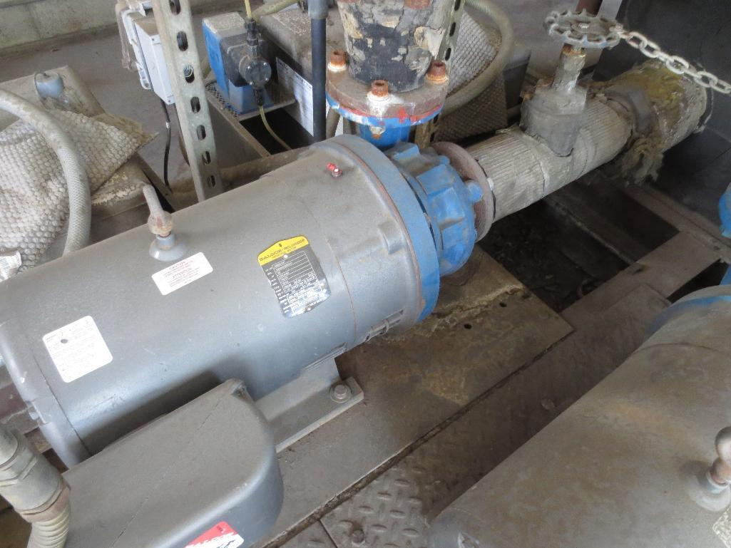 Pumping Station & Storage Tank With Four Motors, 75hp, Two 30hp, 10hp, Chemical Additive System Not - Image 9 of 9