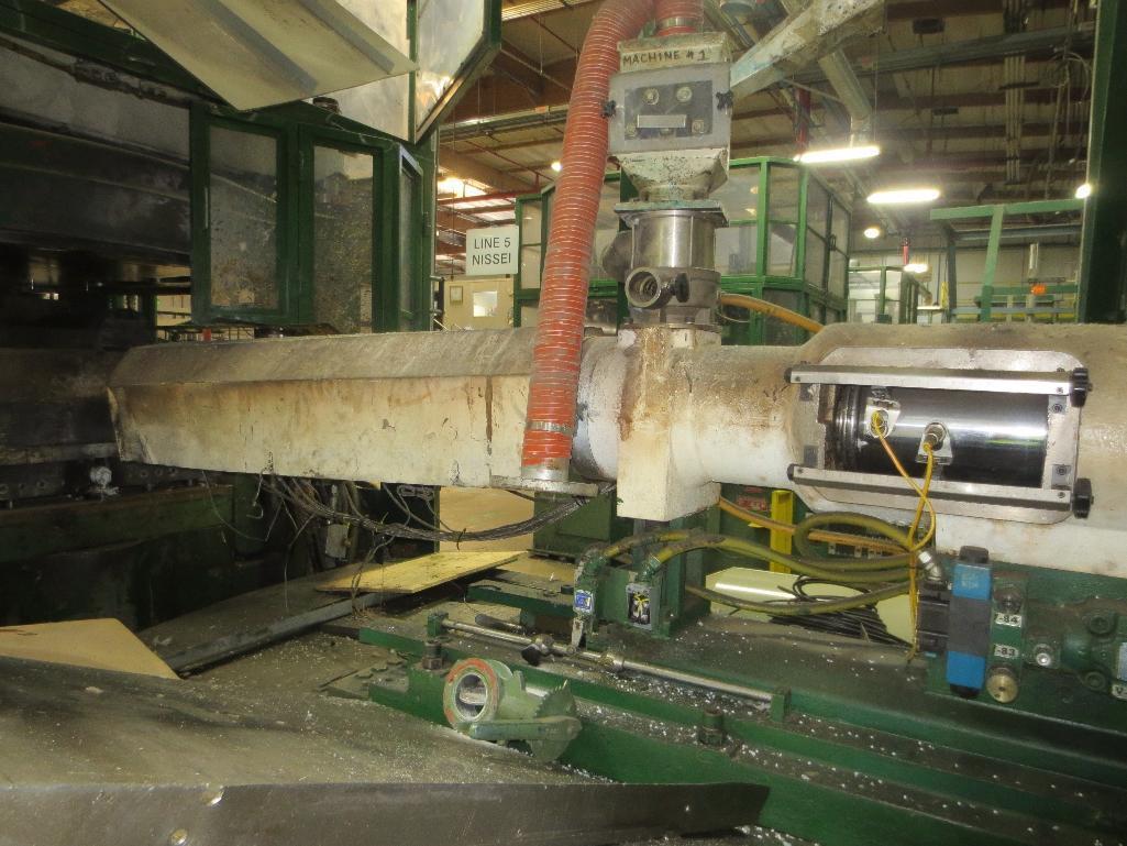 Nissei Stretch Blow Molding Machine, M/N ASB650EX II (Needs Gear Box) S/N 8665348, Mfg. Date 2/87 - Image 6 of 15