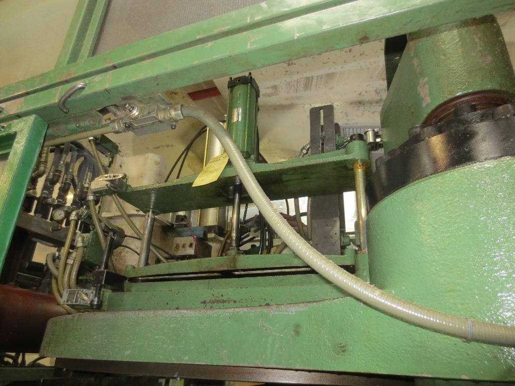 Nissei Stretch Blow Molding Machine, M/N ASB850EX II, S/N 109A4402, Mfg. Date 12/88 - Image 10 of 14