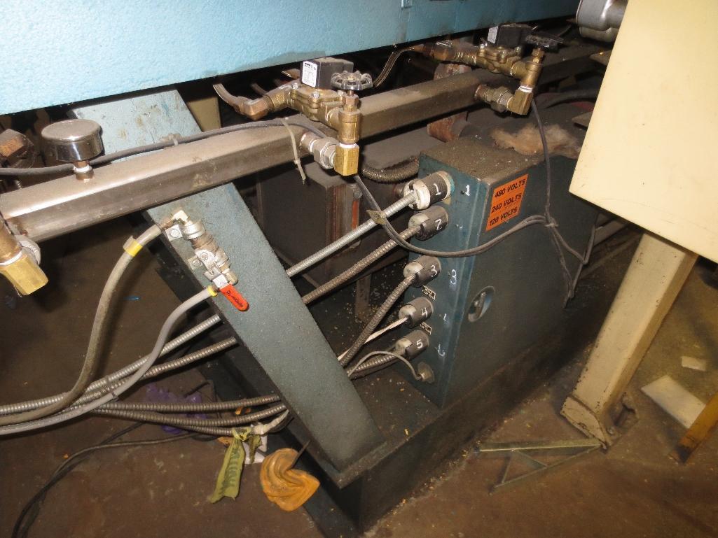 Lufkin Extruder With Electrostat 200hp Motor & Control Cabinet, M/N D165-611C, S/N 6646 - Image 5 of 8