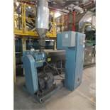Davis Standard Corp. Extruder With Leeson 40hp Motor & Control Cabinet, M/N SB250, S/N AQ758, Mfg. D