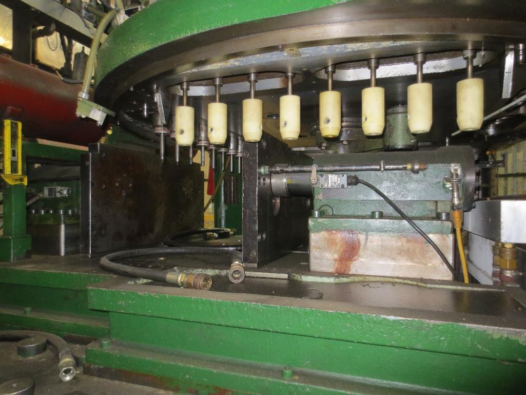 Nissei Stretch Blow Molding Machine, M/N ASB650EX II (Needs Gear Box) S/N 8665348, Mfg. Date 2/87 - Image 7 of 15