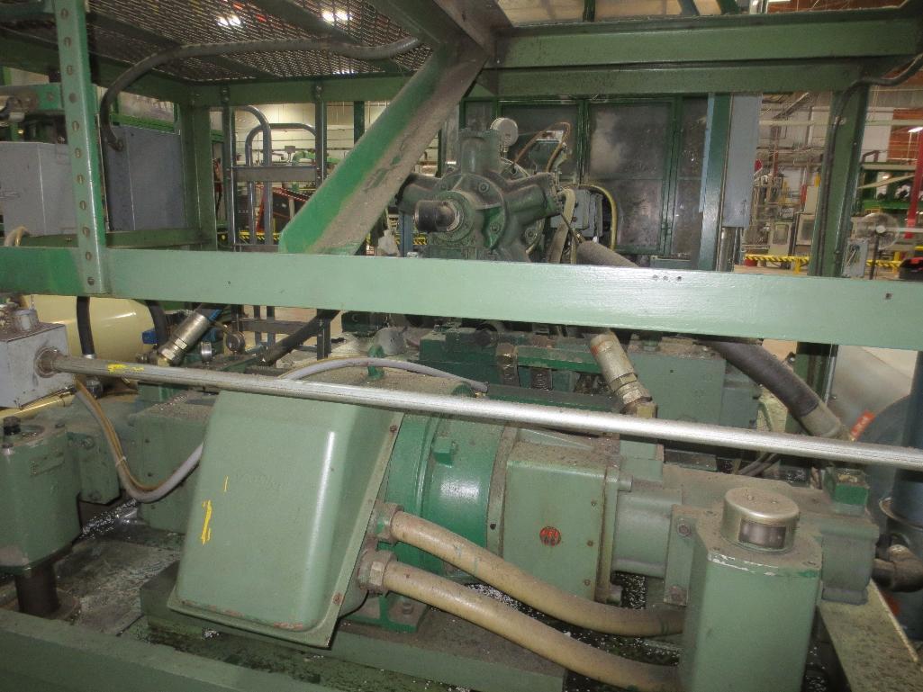 Nissei Stretch Blow Molding Machine, M/N ASB650EX II, S/N 8465313, Mfg. Date 5/84 - Image 8 of 18
