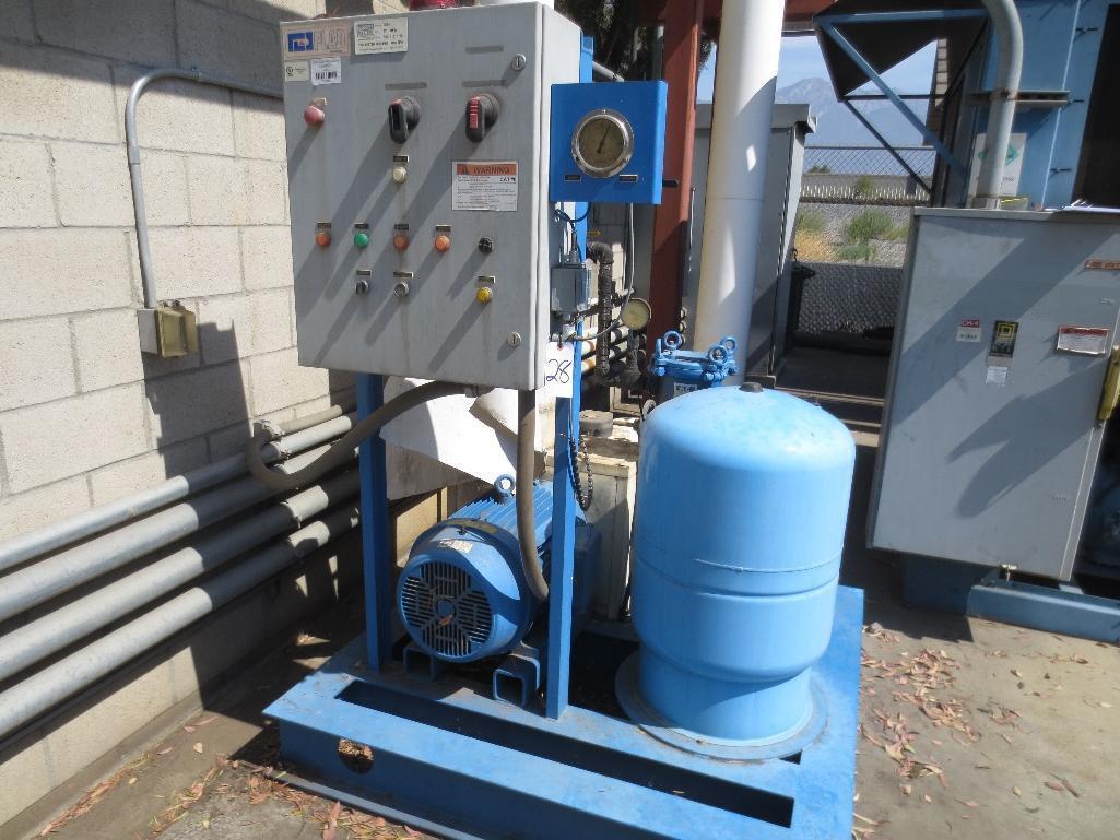 Plad Chiller Pump, 850 GPM