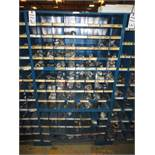 Three Compartment Bins Of Pipe Couplings