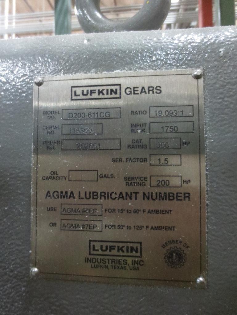 Lufkin Extruder M/N D200-611-CG S/N 118360 - Image 6 of 6