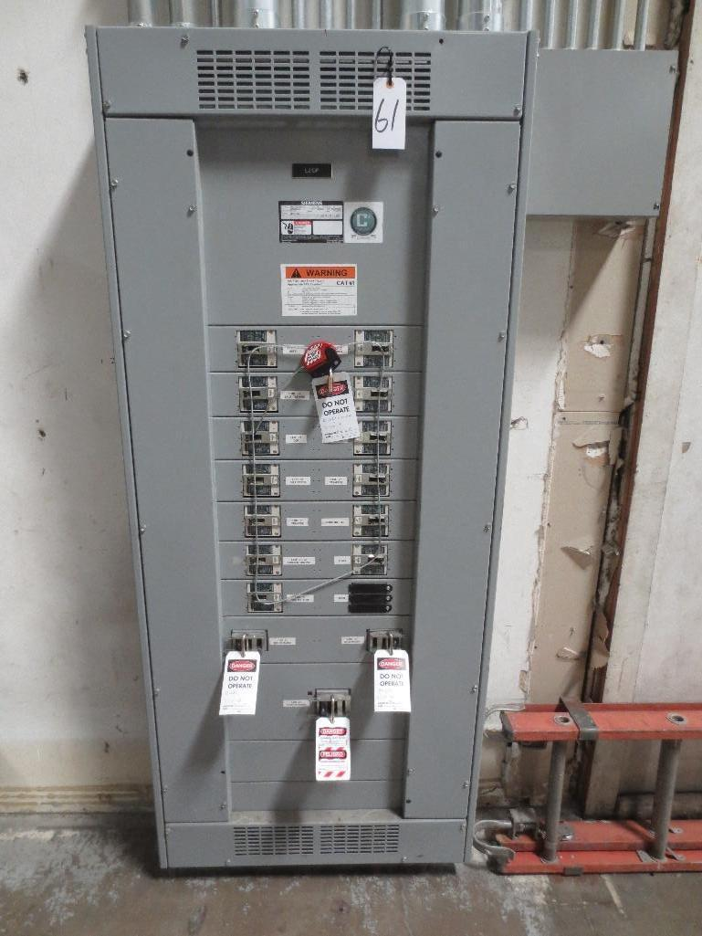Siemens Breaker Panel, 400v 800amp Cat No. P4F75ML800ETS