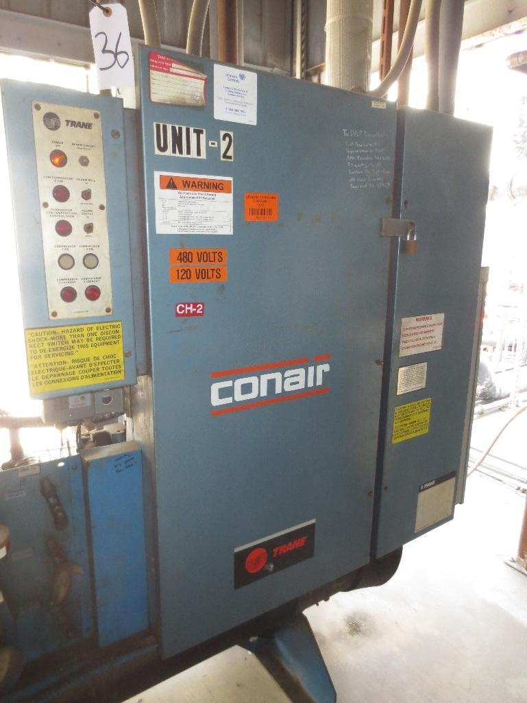 Trane Water Chiller, M/N CGWCC604MDNGG603AFGTP S/N L88F03047 - Image 3 of 7
