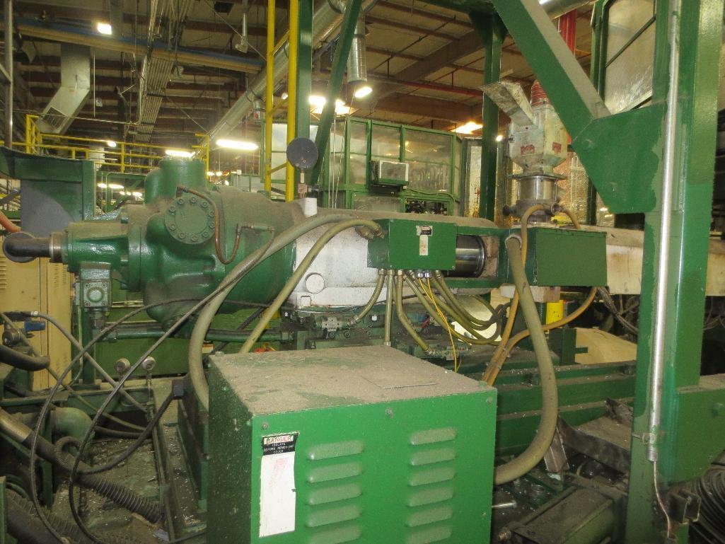 Nissei Stretch Blow Molding Machine, M/N ASB650EX II (Needs Gear Box) S/N 8665348, Mfg. Date 2/87 - Image 12 of 15