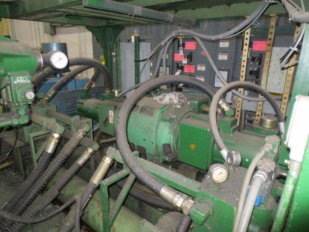 Nissei Stretch Blow Molding Machine, M/N ASB650EX II (Needs Gear Box) S/N 8665348, Mfg. Date 2/87 - Image 4 of 15