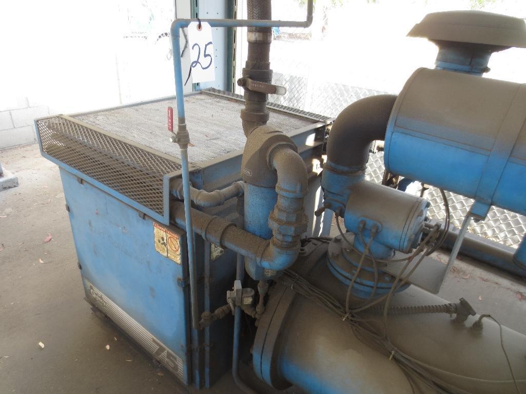 Quincy 75 Air Cooled Rotary Screw Compressor, M/N QMALACA31B S/N 70877 - Image 2 of 7