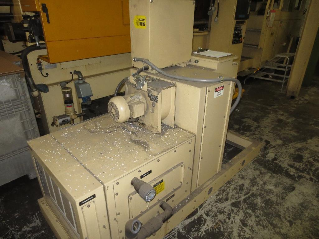Huskey Injection Molder, M/N XL300PET S/N 9420 With 5-Ton H-Frame Hoist System - Image 32 of 35