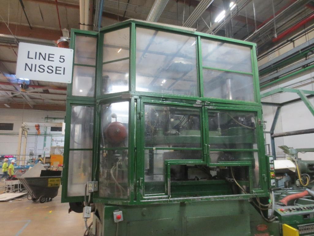 Nissei Stretch Blow Molding Machine, M/N ASB650EX II, S/N 8465313, Mfg. Date 5/84 - Image 17 of 18
