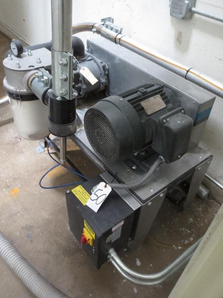 Novatec Vacuum Pump M/N VPDB-7.5 S/N 55203-3912 Mfg. Date 12-14 - Image 3 of 4