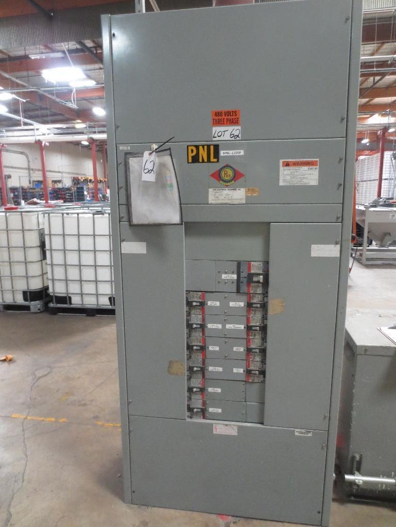 Pico Breaker Panel, 480v 3ph 60hz 800amp S/N 8906