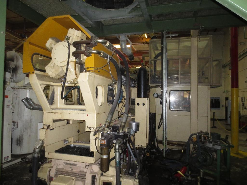 Huskey Injection Molder, M/N XL300PET S/N 9420 With 5-Ton H-Frame Hoist System - Image 22 of 35