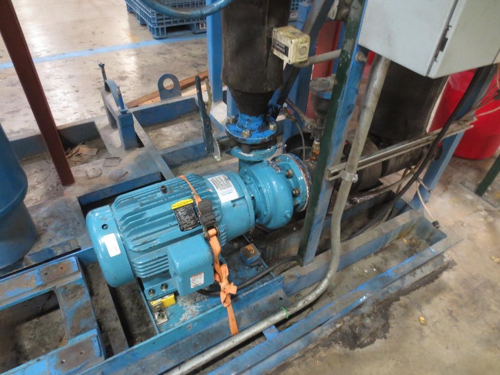 Flo-Pak Skid Mounted Pump Station, M/N CWP-CS-OS-P S/N A003827LP Mfg. Date 7-04 - Image 3 of 6